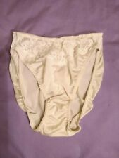 Vtg valentino satin high leg panties size large