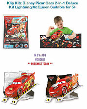 Klip Kitz Disney Pixar Cars 2-In-1 Deluxe Kit Lightning McQueen Suitable for 5+