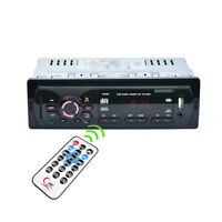 New LCD Car Stereo Audio In-Dash FM Aux Input Receiver SD USB MP3 Radio Player