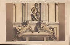 Luz-presión 1898: tumba del Lorenzo de Medici. de Miguel Ángel.