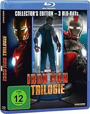 Iron Man - Trilogie [Blu-ray] [Collector's Edition] -  - BLURAY NEU in Folie -