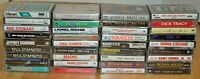 Mixed Lot of 36 Vintage Cassette Tapes Rock Pop Oldies UNTESTED Sinatra Squeeze