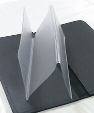 5pc Duplicate Checkbook Divider Insert Protector Vinyl Cover Standard 6 x 3 inch