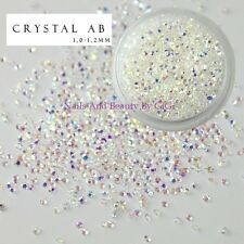 CRYSTAL PIXIE AB 3D Nail Art Micro Zircon 1.2mm Mini Nail Rhinestones