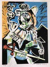 PABLO PICASSO  - Litografia coleccion Domaine Picasso.