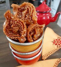 1KG Chebakia Pâtisserie Oriental Maghrébine Gâteau Fête Traditionnel anniversair