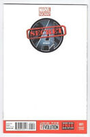 Secret Avengers - Issue #001 Variant Blank Cover Issue