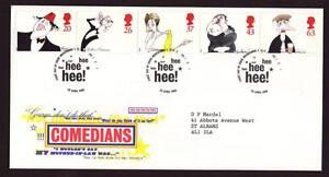 29005) UK 1998 FDC Comics 5v
