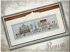 10% Off Country Cottage Needleworks Counted X-stitch chart-Afternoon in Rome