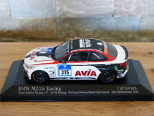 BMW M235i Mathol RACING AVIA 24h Nürburgring 2014 315 Minichamps Modello Auto