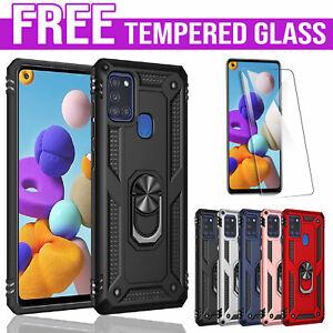 For Samsung Galaxy A11 A20 A21S A30 A31 A50 A51 A71 Magnet Case Heavy Duty Cover