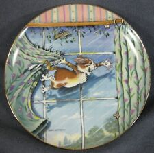 Curtain Call Collector Plate Gary Patterson Comical Cats Danbury Mint