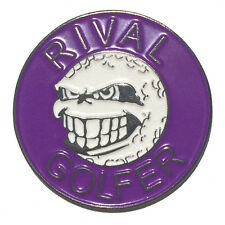 PURPLE - Rival Golfer 'Rebellious' Ball Marker