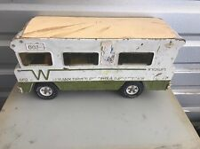VINTAGE 1970's MIGHTY TONKA WINNEBAGO INDIAN MOTORHOME RV PRESSED STEEL