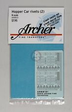 Archer N-Scale (1/160) Hopper Car (Railroad Freight) Rivet Set (Sheet 2) AR88121