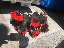 subaru impreza inlet manifold red & Black Plus.  Power Steering Pump Alternator