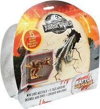 Jurassic World Fallen Kingdom mini Dino multipack 15 pack Battle Damage