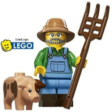 NEW LEGO Minifigures Farmer Series 15 71011 Pig In Hand Sealed Minifigure