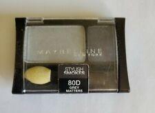 Maybelline Expert Wear Eye Shadow Duo Stylish Smokes 80D Grey Matters Sealed