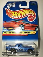 Hot Wheels 1997 Tattoo Machines Series '57 T-Bird 1/4 Collector No. 685