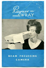 Wray Rayner Beam Focusing Camera Leaflet - RARE. Other Brochures Also Listed