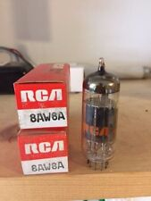 RCA 8AW8A Electronic (Vacuum) Tube (NOS) Original Box (2 in package)