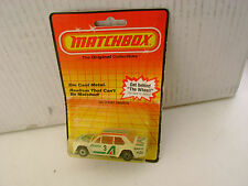 1983 MATCHBOX SUPERFAST #9 FIAT ABARTH ALITALIA 3 NEW ON DAMAGED CARD