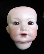 Bisque DOLL HEAD Germany 971 Ruth Hacker A 6 M