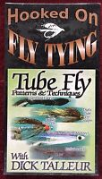 New VHS Hooked on Fly Tying Tube Fly Patterns & Techniques ~ Father's Day Gift