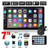 "7"" Double 2 DIN Car GPS FM Stereo Radio MP5 Player Touch Screen Bluetooth+Camera"