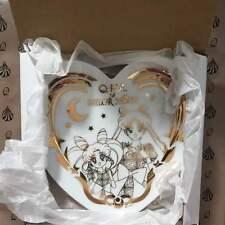 Sailor Moon × Q-pot. Cafe Usagi × Chibi Usa Heart Plate Dish JAPAN