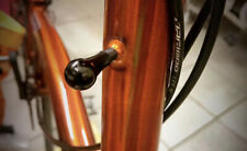 Métallique Head Tube badge pour BROMPTON Raw laque