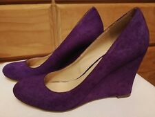 Siren Leather Wedges Size 8