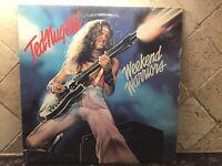 "Ted Nugent ""Weekend Warriors"" 1978 LP Vinyl Epic Record FE-35551 W/ Orig. Sleeve"
