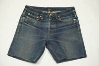 A.P.C. Rue Madame Paris Medium Wash Petit Standard Selvage Jean Shorts Sz 27