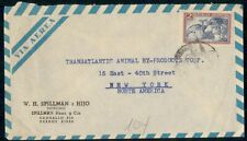 Mayfairstamps Argentina Fruit Transatlantic Animal By Products Cover wwh_31499