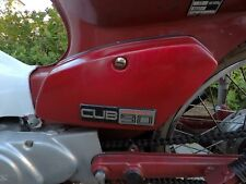 HONDA CUB C90 C70 C50 SIDE COVER PAINT PROTECTION AND ANTI VIBRATION STRIPS