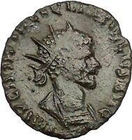 Quintillus  270AD Authentic Rare Ancient Roman Coin Concordia Harmonia  i52731