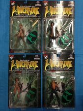 Witchblade Series 1 set of 4 Action Figures - Moore, Top Cow