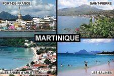 SOUVENIR FRIDGE MAGNET of MARTINIQUE