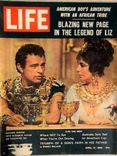Life Magazine-April 13th, 1962- Burton & Taylor