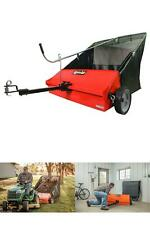 Agri-Fab Lawn Sweeper 45-0492 44-Inch Tow-Behind Grass Leaves Hitch Easily NEW