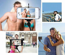 Selfie stick cable take pole holder for Apple iphone 4/5/6 Samsung Galaxy S5/S4