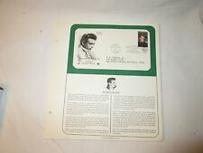US Stamps PCS Panel FDC #3082 Legends of Hollywood James Dean 1996