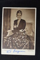 "Rare Signed Lil Dagover - Vintage Photo Postcard 1930's-40""s German Actress"