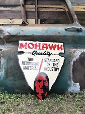 Antique Vintage Style Mohawk Tire Sign