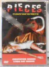 Pieces (DVD, 2001) VERY RARE 1982 HORROR MYSTERY BRAND NEW