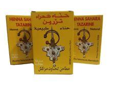 Henna Sahara tazarine 3 unidades. Cabello, tatuajes, cejas.