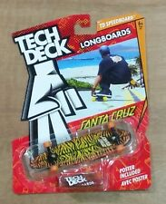 Santa Cruz - Tech Deck Longboard / Finger Skateboard - New