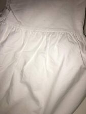 Simply Shanby Chic Twin White Bed Skirt